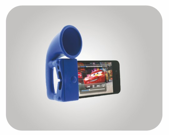 Coolest Silicone IPhone Speaker